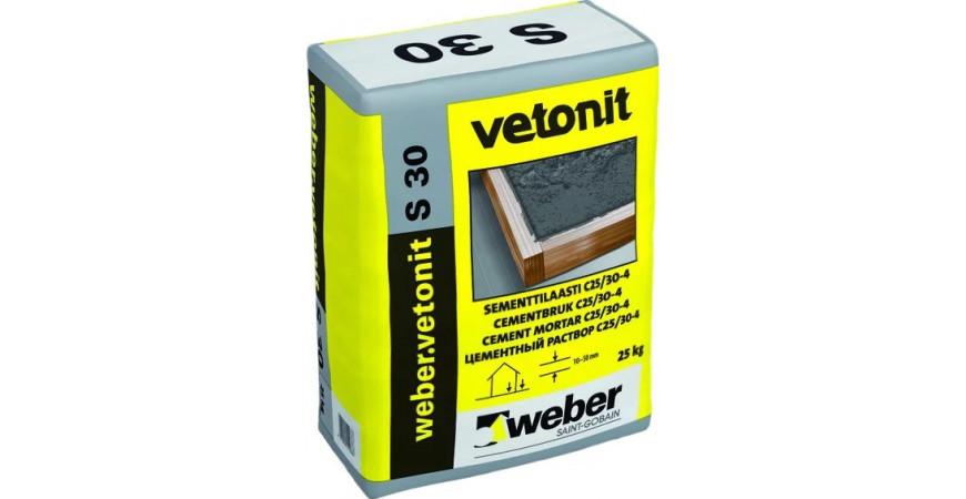 Купить Цементный раствор - Пол WEBER.VETONIT S30, в интернет-магазине